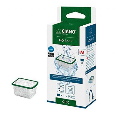 Ciano Aquarium Filter Media - Bio Bact CF80 Med